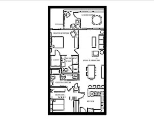 The Palms 2 BR condo Floor Plan mirror fnl